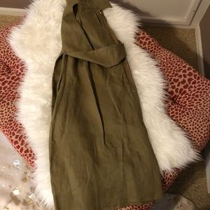 Tibi Pants - Tibi Hessian Linen Jumpsuit